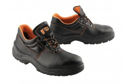 CIPŐ FÉLCIPŐ PANDA ERG BETA 6211 S1P 36-OS  0201012099036  511201012099036  Kényelem és szilárdság verhetetlenül alacsony áron. Ebben az alacsony szabású fűzős cipőben az acél kapli és csúszásgátló cipőtalp van kombinálva, hogy biztosítsák a biztonság magasabb szintjét. A valódi bőr felsőrész és a nedvesség felszívó bélés a lábnak állandó enyhülést adnak.