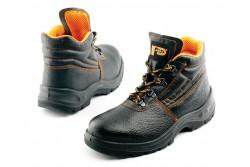 BAKANCS PANDA ERG ALFA 6911 O1 36-OS 0202003199036  511202003199036  Biztonsági cipő, antisztatikus csúszásgátló és üzemanyagálló PU/PU talp, energiaelnyelő sarok és lélegző bőr felsőrész.