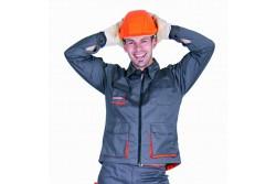 KABÁT DESMAN  SZÜRKE/NARANCSSÁRGA 48-AS  301004290048  511301004290048  Többfunkciós zsebekkel ellátott dzseki.