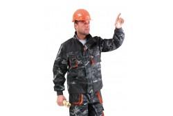 KABÁT EMERTON CAMOUFLAGE  48-AS  301004612048  511301004612048  • munkakabát kényelmes szabással és magas ellenálló képességgel • az igénybevett pontok megerősítése 600D PES • szellőzők hónaljban • megerősített duplarétegű könyékkel • a kabát ujján gumírozott mandzsettával