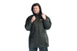 KABÁT ATLAS ZÖLD L 0301007610003  511301007610003  Meleg bélésű, vízhatlan, kapucnis dzseki megerősített varrással.