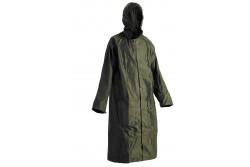 ESŐKABÁT NEPTUN ZÖLD L  0311001210003  511311001210003  Esővédő kabát csuklyával, lehegesztett varratokkal, praktikus tartóban.