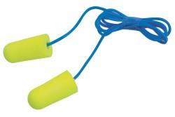 FÜLDUGÓ E.A.R. SOFT ZSINORRAL 401004399999  511401004399999  Igen puha PU habból készült, egyszer használatos, könnyen alakítható, lekerekített végű füldugó. Minimális és egyenletes nyomást fejt ki a hallójárat falára. Zsinórral szállítjuk.