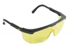 VÉDŐSZEMÜVEG TERREY SÁRGA 0501036570999  511501036570999  Állítható szárhosszú szemüveg, speciálisan tervezett az ipariban dolgozók számára, F osztályú látómező karcálló réteggel, ISO 9001.