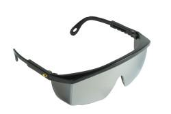 VÉDŐSZEMÜVEG TERREY TÜKRÖS SZÜRKE 0501036501999  511501036501999  Állítható szárhosszú szemüveg, speciálisan tervezett az ipariban dolgozók számára, F osztályú látómező karcálló réteggel, ISO 9001.