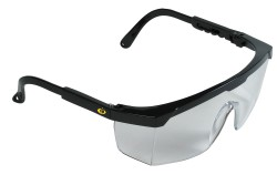 VÉDŐSZEMÜVEG TERREY VÍZTISZTA 0501036581999  511501036581999  Állítható szárhosszú szemüveg, speciálisan tervezett az ipariban dolgozók számára, F osztályú látómező karcálló réteggel, ISO 9001.