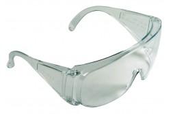VÉDŐSZEMÜVEG ART.B14071630   0501036981999  511501036981999  F osztályú, széles látószögűszéles látószögű, víztiszta polikarbonát látómezős védőszemüveg. Korrekciós szemüveg fölött is viselhető.