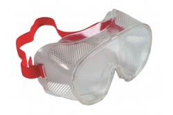 VÉDŐSZEMÜVEG PILLI ZÁRT  0501037499999  511501037499999  Közvetlen szellőzésű védőszemüveg F osztályú lapos PC látómezővel és puha műanyag arcrésszel.