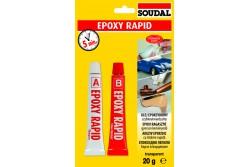EPOXY RAPID RAGASZTÓ 2X10 G SOUDAL 124683  537124683