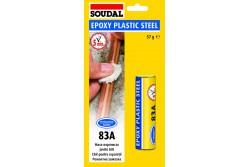 EPOXY PLASTIC STEEL RAGASZTÓ 83A 60 ML SOUDAL 124851  537124851